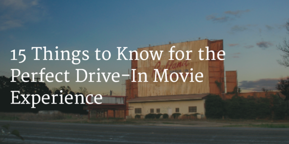 Perfect Drive-In Experience