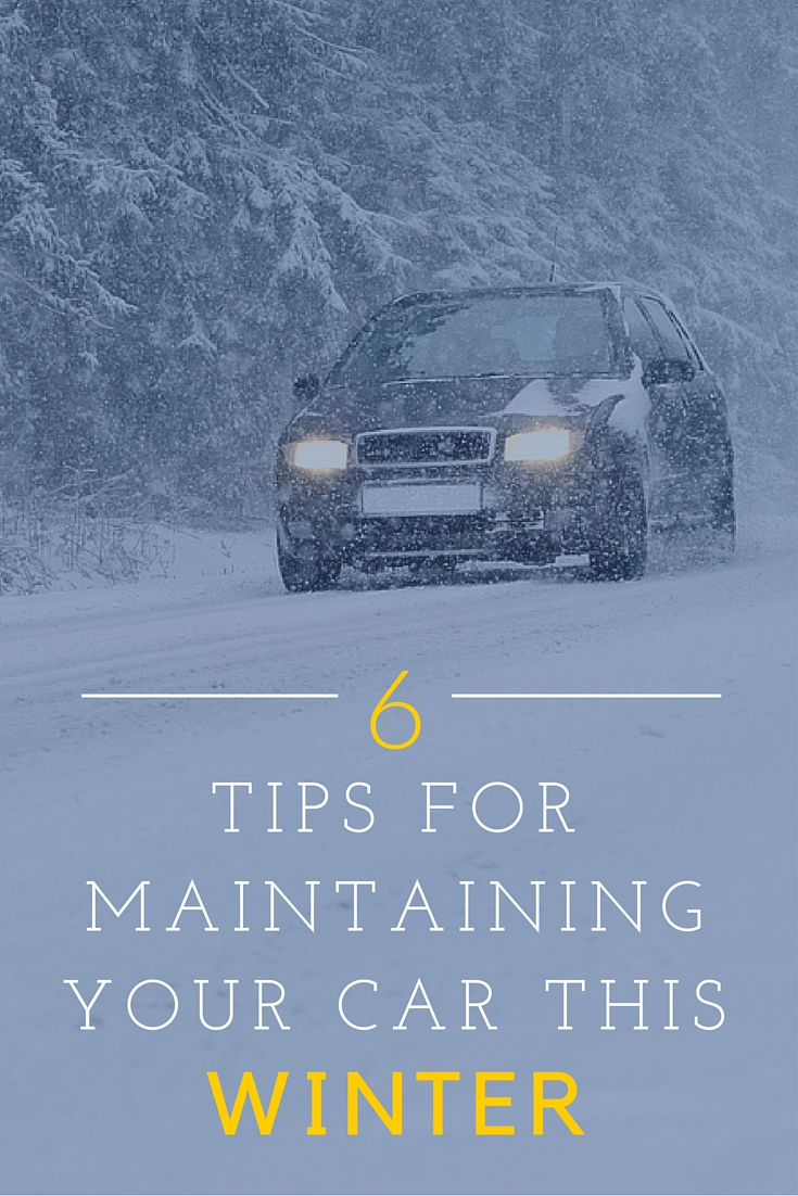 6 Tips For Maintaining Your Car This Winter Vanderstyne