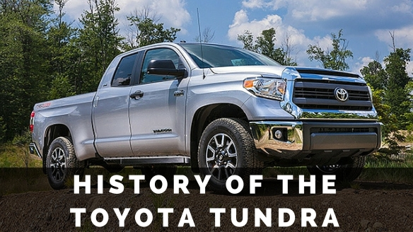 History of the Toyota Tundra