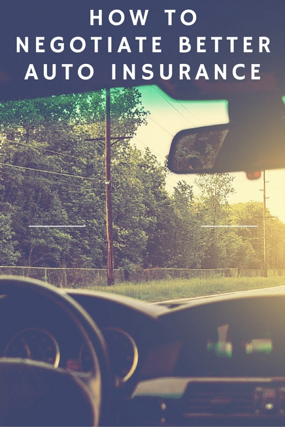 How to Negotiate Better Auto Insurance