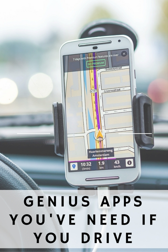 6 Genius Apps You Need If You Drive