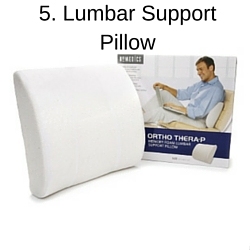 5. Lumbar Support Pillow