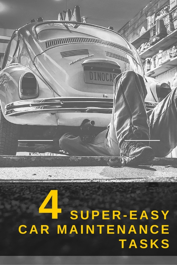 The 4 super-easy car maintenance tasks