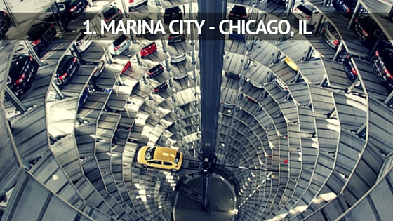 parking garages aparicio paul a chicago skyline garage photography