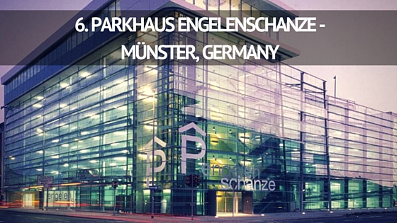PARKHAUS ENGELENSCHANZE - MÜNSTER, GERMANY